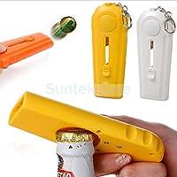 Generic Orange : Bar Tool Flying Cap Launcher Bottle Soda Wine Beer Cap Opener Men Gift PICK