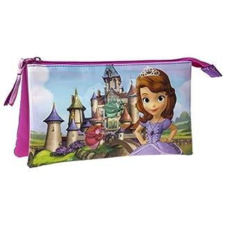 Neceser Princesa Sofia Fairies 3 compartimentos