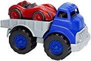 Green Toys Flat Bed Truck & Race