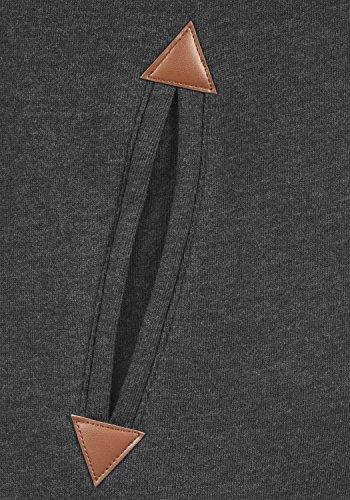 DESIRES Liki Straight-Zip - Felpa Con Zip da Donna D Gre PIL (P8288)