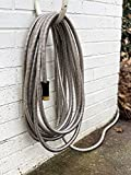 Benchmark Garden - 50' Stainless Steel Garden Hose - 304 Stainless Steel