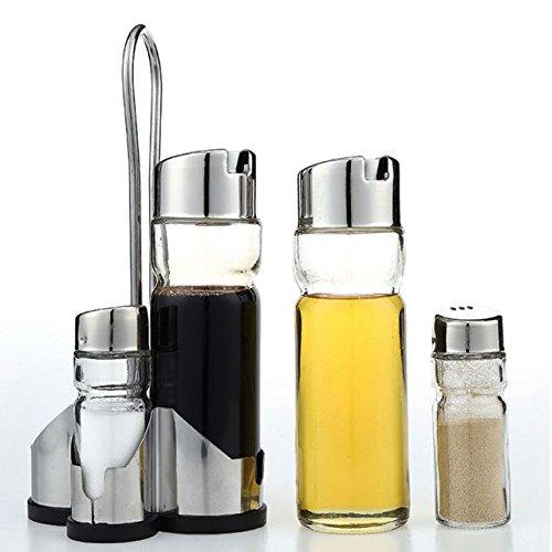 5-piece-cruet-condiment-set-glass-salt-pepper-oil-vinegar-dispencer-rack-stand