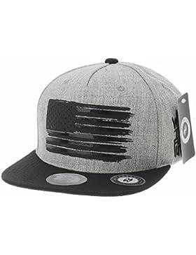 WITHMOONS Baseballmütze Mützen Caps Baseball Cap Star and Stripes American Flag Hat KR2305