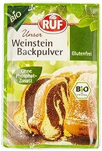 RUF Bio Weinstein Backpulver 20x3er