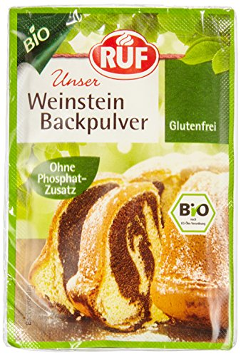 RUF Bio Backpulver Weinstein, 20 mal 3er Pack, (20 x 3 x 20g )