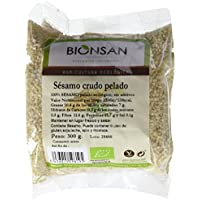 Bionsan Sésamo Crudo Pelado - 6 Paquetes de 300 gr - Total: 1800 gr