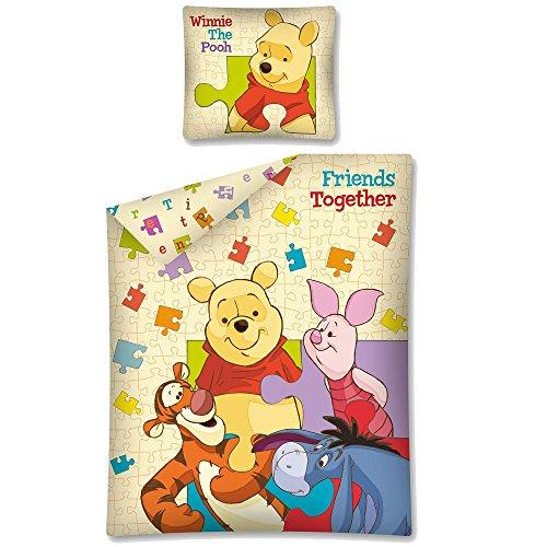 Conjunto Funda nórdica reversible cama Disney Winnie