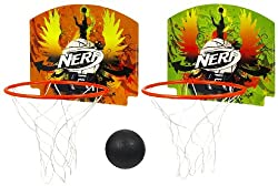 Nerf Sport Wall To Wall Basketball Set