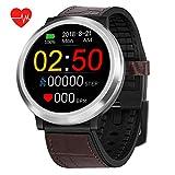 Smart Watch, Orologio da Fitness Bluetooth, Orologio da Fitness, Orologio da Polso Impermeabile, Orologio da Uomo e da Donna, Compatibile con iOS, Android