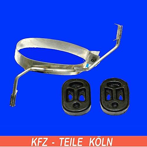 Preisvergleich Produktbild Edelstahl Topfhalter Auspuffhalter (KSAZ4RGQO)