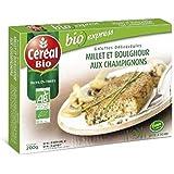 Céréal bio galettes millet champignons 200g - ( Prix Unitaire ) Envoi Rapide Et Soignée