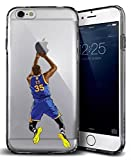 TN Cases Store Coque iPhone 6 6S Kevin Durant KD Warriors de Golden State 35 Basketball NBA Silicone Souple