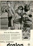 1960 - Inserat / Anzeige: DRALON - WENN DIE MÜTTER WÜSSTEN - Format ca. 280x230 mm - alte Werbung / Originalwerbung/ Printwerbung / Anzeigenwerbung / Advertisement