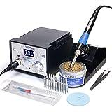 Station de fer à souder numérique professionnel WEP939D+, 75 W, avec protection...