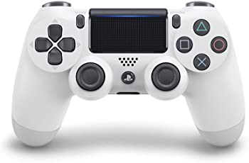 PlayStation 4 - Dualshock 4 Controller Wireless V2, Bianco (Glacier White)