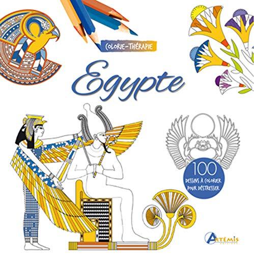 EGYPTE COLORIE-THERAPIE par COLLECTIF
