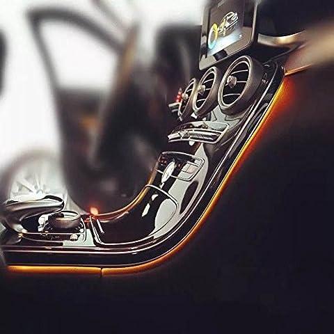 MB Ambient Light Kit Besondere für Mercedes Benz C-Klasse W205MB Auto Innen Atmospher Beleuchtung Zubehör Drei (Mb Draht)