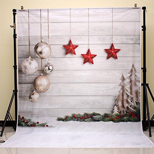 20cm Weihnachten Fotografie Hintergrund Newborn Weihnachtsfoto Hintergrund für Fotostudio Weihnachtsfeier xt-4338 ()