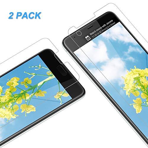 Vkaiy Verre Trempé pour HTC U Ultra, Film Protection Écran Protecteur Vitre HTC U Ultra, sans Bulles d'air, HD Transparent, Dureté 9H, Lot de 2