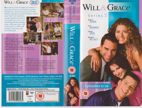 will-and-grace-season-2-episodes-21-24-vhs-2001