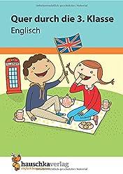 Quer durch die 3. Klasse, Englisch - Übungsblock (Lernspaß Übungsblöcke, Band 673)