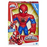 Playskool Heroes Marvel Super Hero Adventures Mega Mighties - Figurine Spider-Man - 25 cm - Jouet enfants