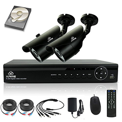 TRUE-960p-HD-SMART-CCTV-System-KARE-1080N-DVR-Recorder-with-2x-Super-HD-13MP-Outdoor-Cameras-and-1TB-Pre-installed-Hard-Drive-Disk-P2P-Technology-1280x960-Bullet-Cam-Even-Better-Than-720P-Rapid-USB-St
