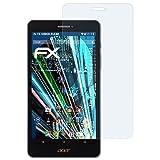 atFolix Schutzfolie kompatibel mit Acer Iconia Talk S A1-734 Panzerfolie, ultraklare & stoßdämpfende FX Folie (2X)