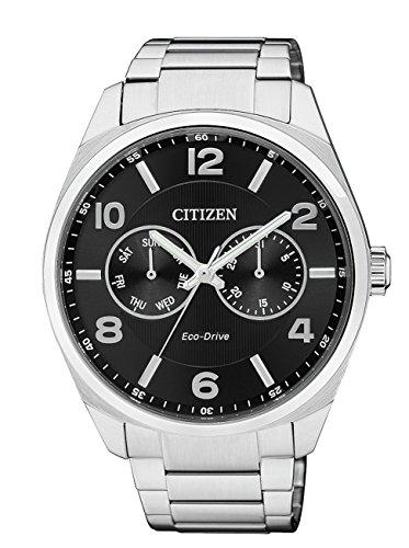 Citizen metropolitan eco drive ao9020-50e - orologio da polso uomo