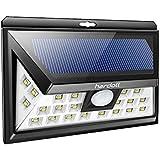 Hardoll 24 Led Solar Lights (Black)
