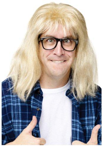 Unbekannt SNL Garth Algar Wig - Wayne Von Wayne's World Kostüm