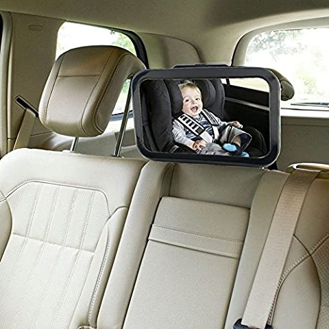 WeterCos(TM)Car Safety Easy View Back Seat Mirror Baby Facing Rear