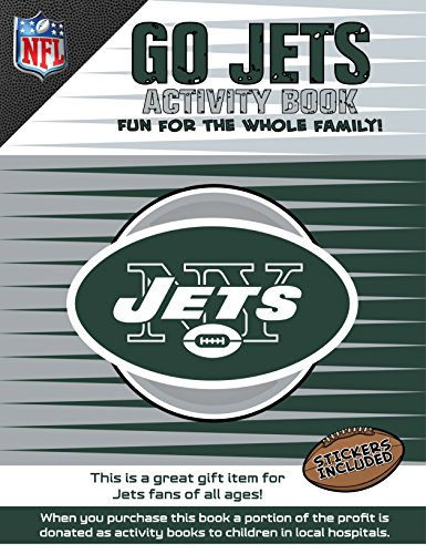 Go Jets Activity Book (NFL Activity Boook) por Darla Hall