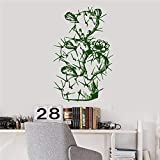 Kreative diy cocktail glas wandaufkleber abziehbild wandaufkleber küche tür bad kinder möbel wandaufkleber für schlafzimmer ~ 1 60 * 108 cm