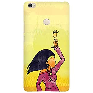 URBAN KOLOURS Original Designer Printed Hard Case Back Cover for Xiaomi Mi Max (Party Girl)