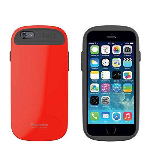 iFace Apple iPhone 6 Case Revolution Collection - Premium Slim Fit Dual Layer Protective Hard Case-Apple New iPhone 6 Case 6 2014 Model (4.7 inch)(Baby Pink) Red