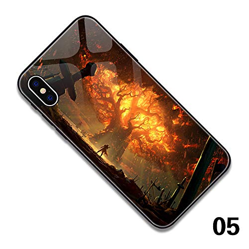 CAIYI iPhone 7/8 Hülle,iPhone 7/8 Plus Hülle,iPhone X Hülle World of Warcraft iPhone Hülle,Alliance & Horde Phone Hülle,Blizzard Pro Support (iPhone XR, 5)