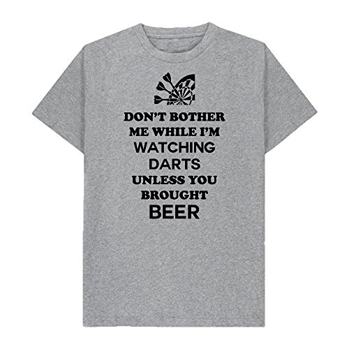 Don't Bother Me While I'm Watching Darts - Unless You Brought Beer - Tshirt - Shaw T-Shirts® - Sizes Small to 2XL