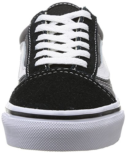 Vans OLD SKOOL, Unisex-Kinder Sneakers Mehrfarbig (BLK/PEWTER G4B)