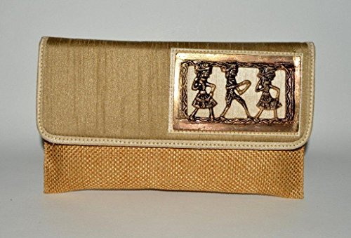Theshopy Indian Exclusive Lady Clutch With Hand Work #969