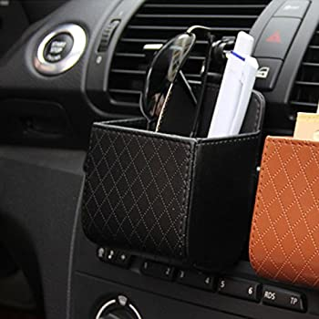 Raiphy Auto Organizer Interieur Aufbewahrungsbeutel Luft Belüftung Organizer Tasche Box Storage Multifunktions Tasche Für Schlüssel, Münzen, Rechnung Kaution Usw-2 4