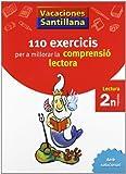 Vacaciónes Santillana 110 Exercicis Per a Millorar La Comprensio Lectora 2 N PriMaría - 9788498073768
