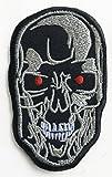 """Aufnäher """"Terminator"""" ,8,9cm, Cyborg T-800Robot, gesticktes Eisen / Nähen auf Flicken, Filmsouvenir """"Der jüngste Tag"""", Skynet, Kostüm, Cosplay"""