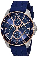 Guess W0798G2 - Reloj de lujo para hombre, color azul de Guess