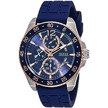Guess  W0798G2 - Reloj de lujo para hombre, color azul