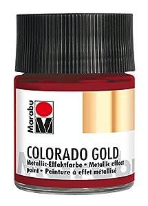 Marabu 12640005732Efecto Color, Color Rojo Metálico