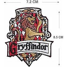 Griffindor Stickerei Patch Eisen auf oder Nähen auf Hogwarts House bestickt Motiv Harry Potter Transfer Aufnäher
