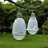 Junsi Camping Hiking Tent Emergency LED Solar Power 1w Lantern Hanging Lamp Light