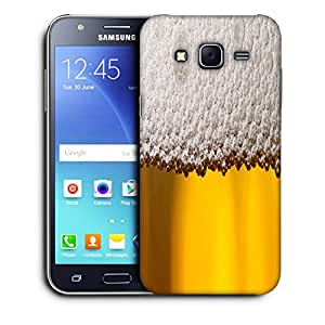 Snoogg Beer Bubbles Designer Protective Back Case Cover For SAMSUNG GALAXY J5