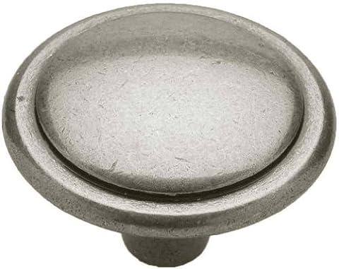 Knobware R06013K 1–1/10,2cm Bouton de cercle, Antique Pewter, 1-1/4